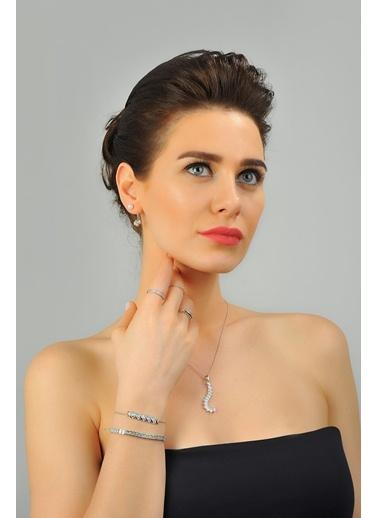 0,80 Ct Pırlanta Efekt Altın  Vitta Bileklik-Tophills Diamond Co.